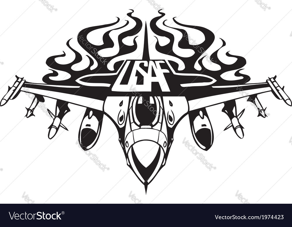 Us Air Force Military Design Royalty Free Vector Image