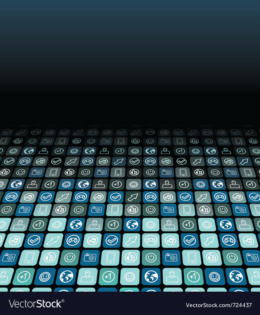Abstract technology background - vector image