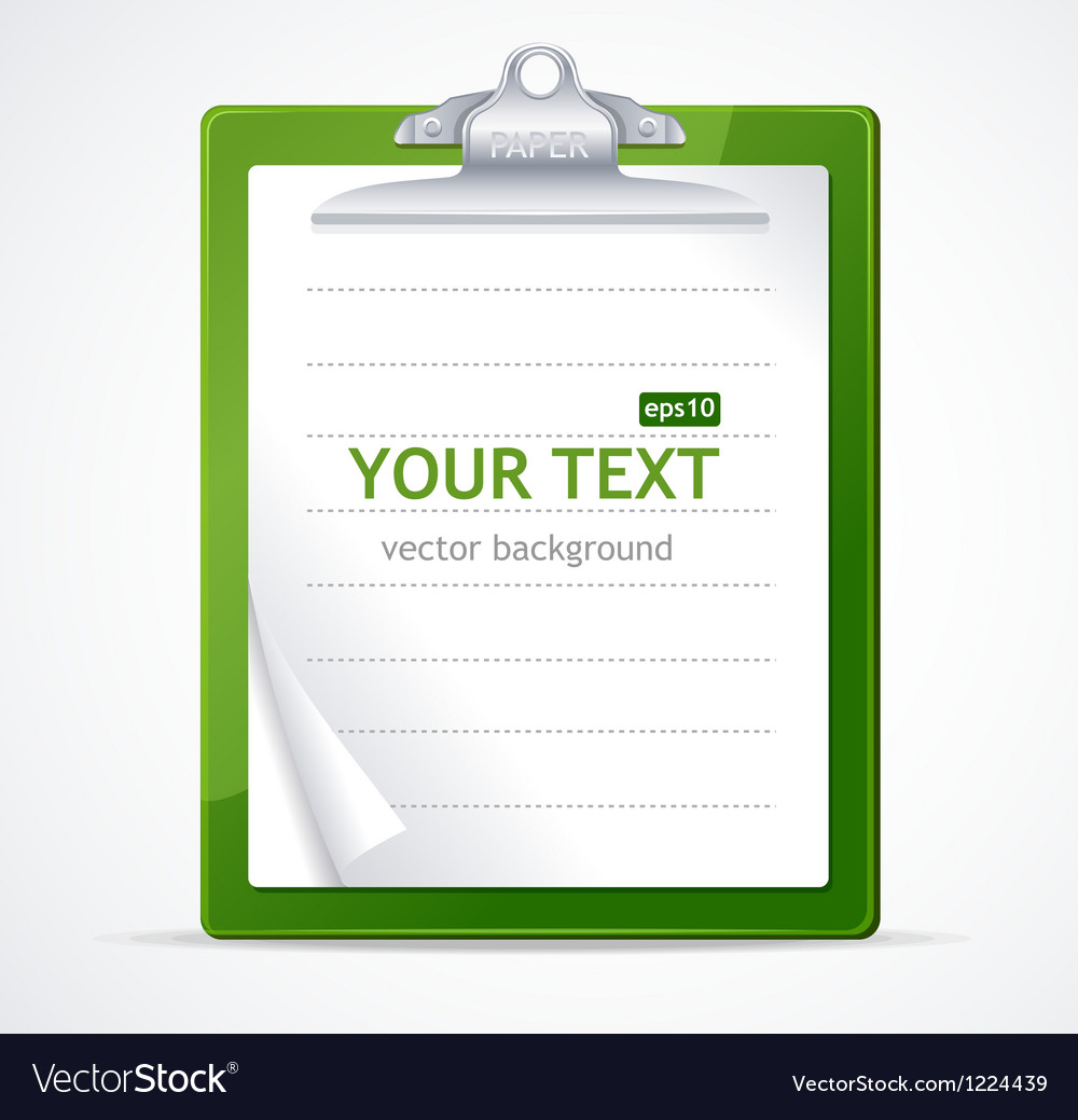 Check list text vector image