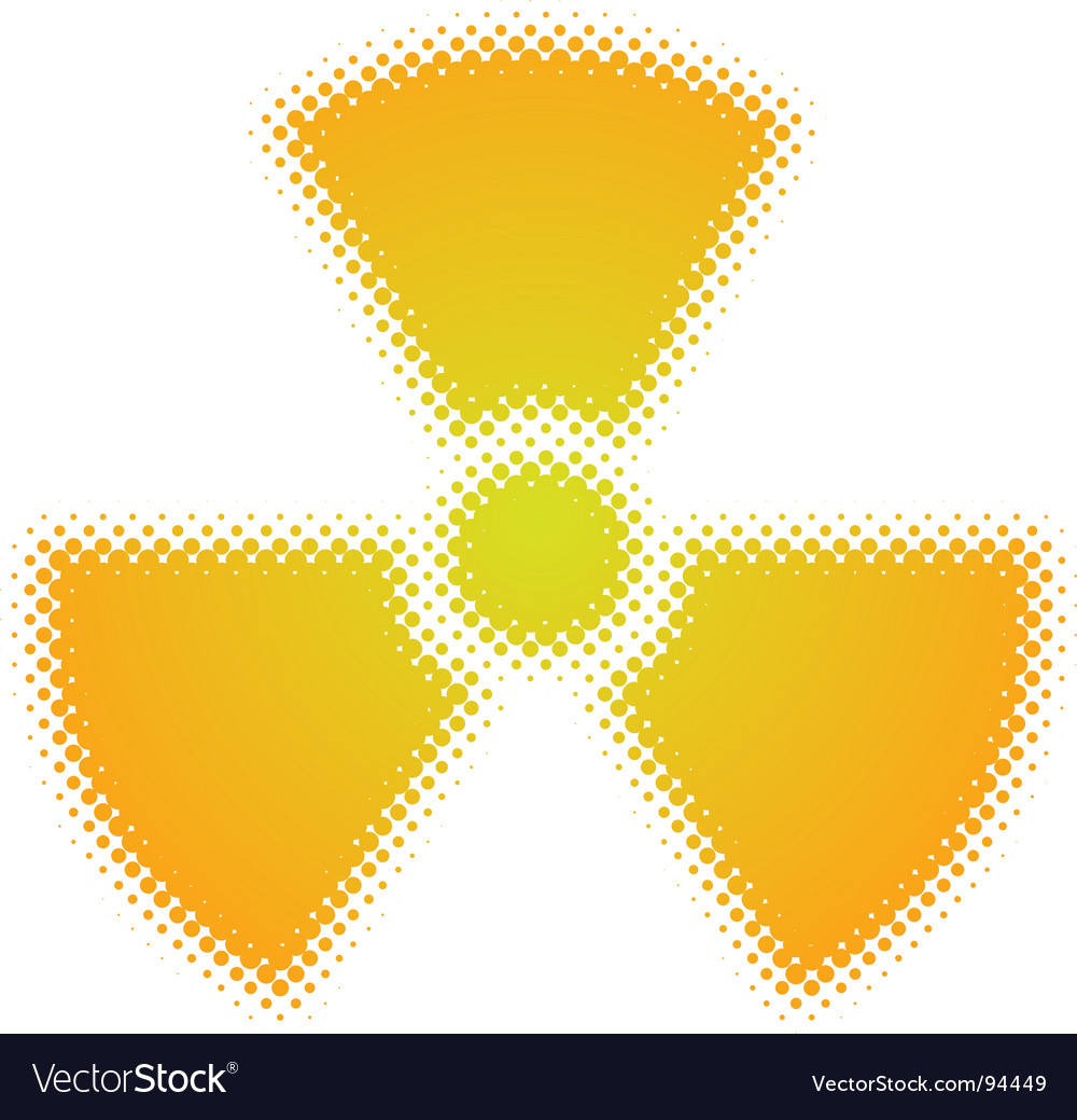 Radioactive symbol royalty free vector image vectorstock radioactive symbol vector image buycottarizona