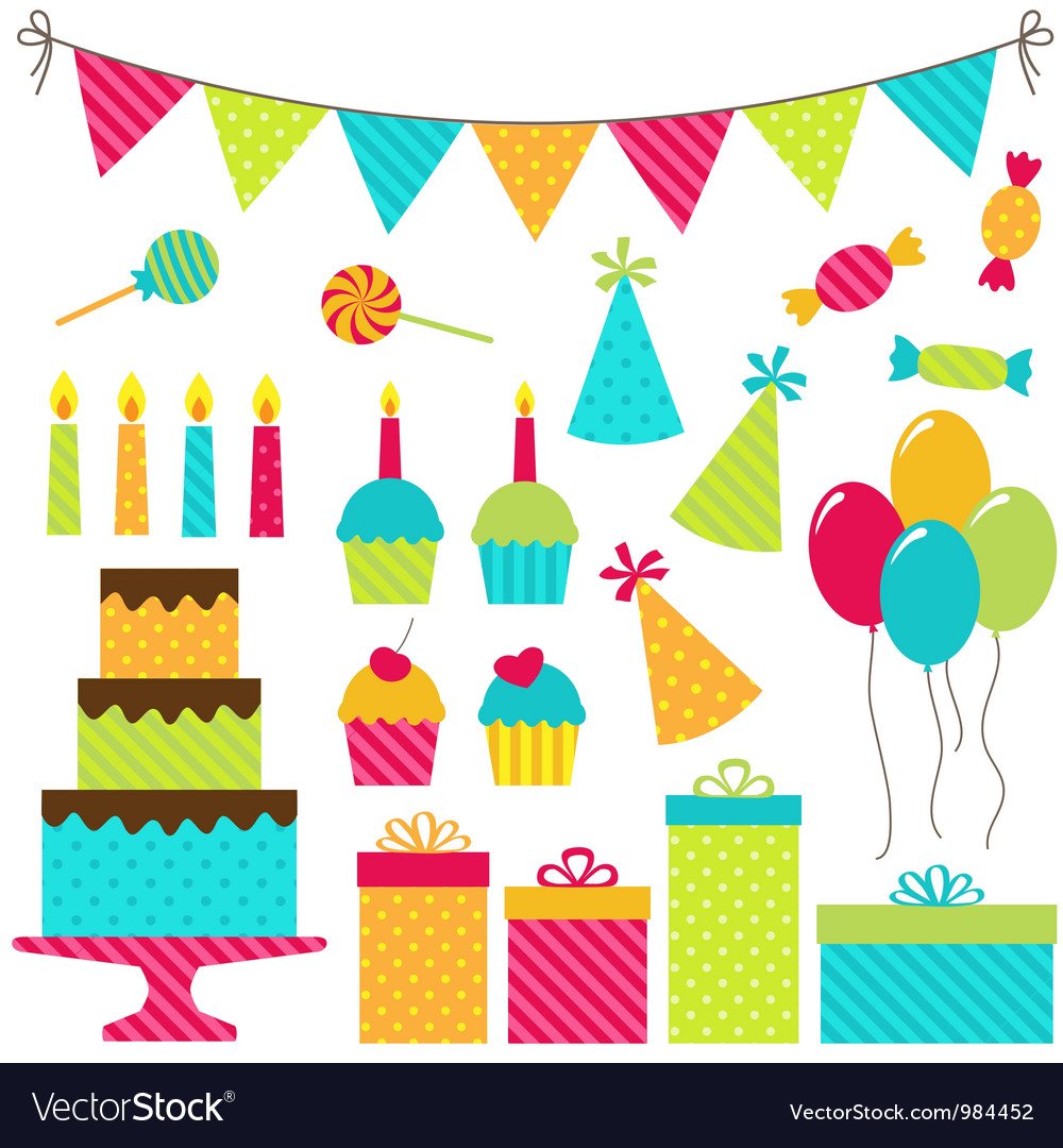 Birthday Party Royalty Free Vector Image