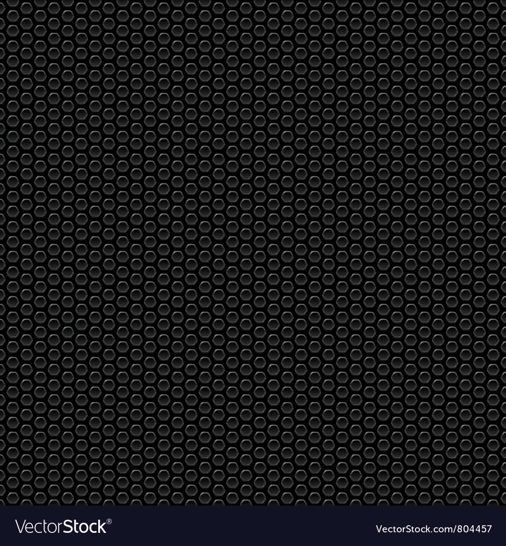 Texture with hexagonal cells vector image