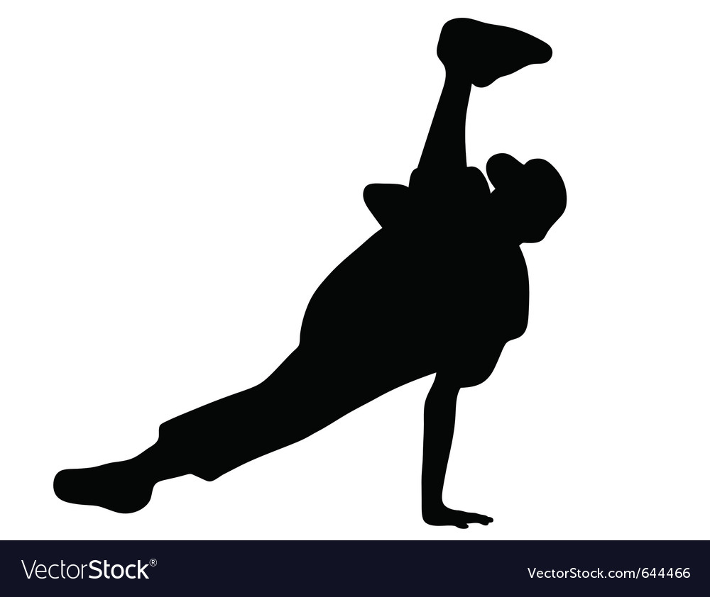 Streetdancer vector image