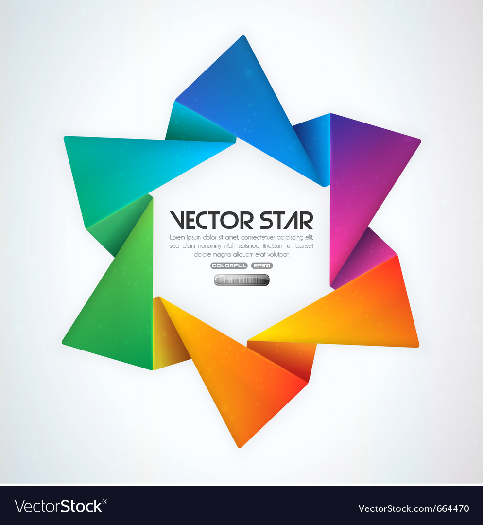 Star vector image