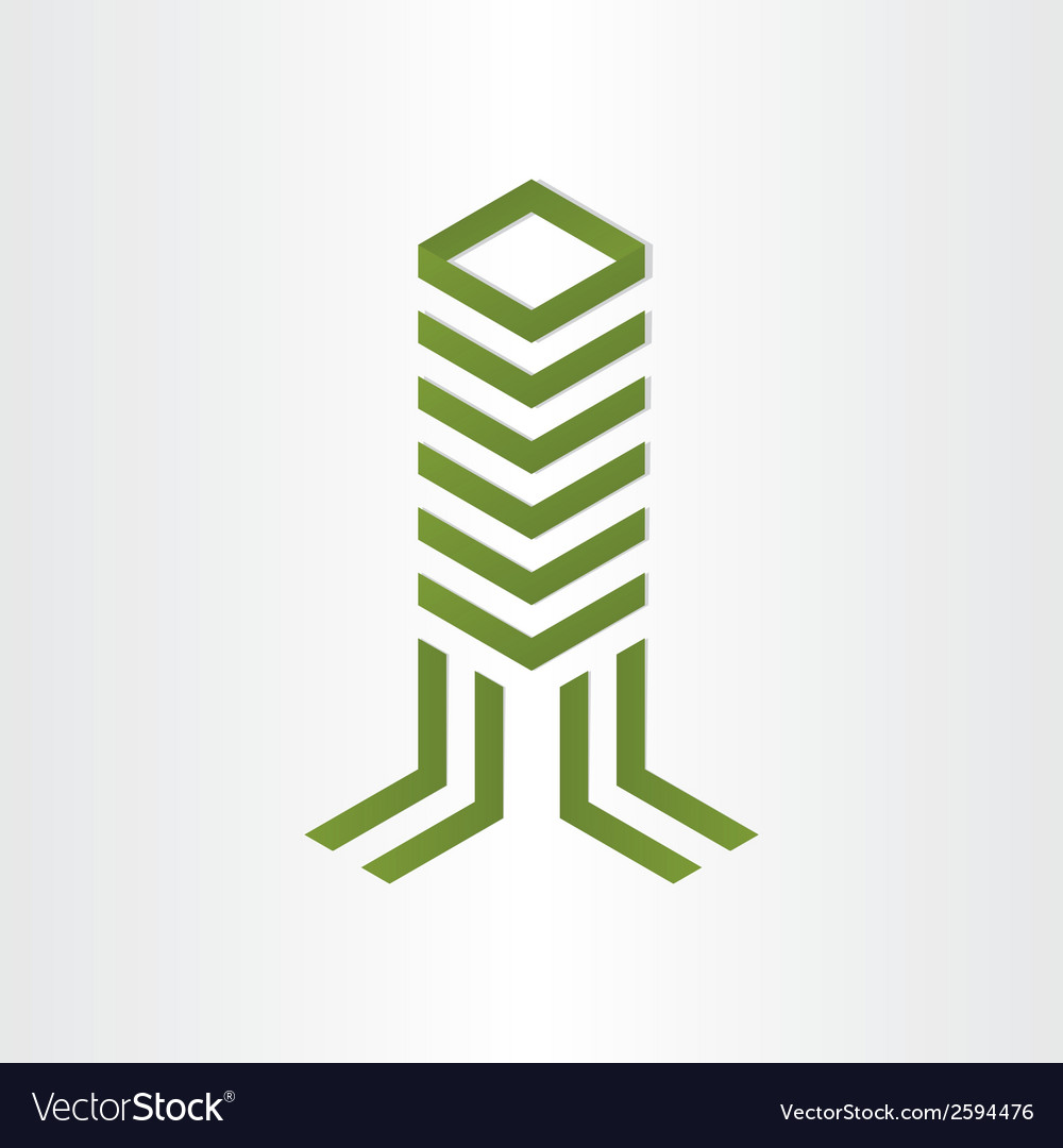 Building home tower office symbol design Vector Image