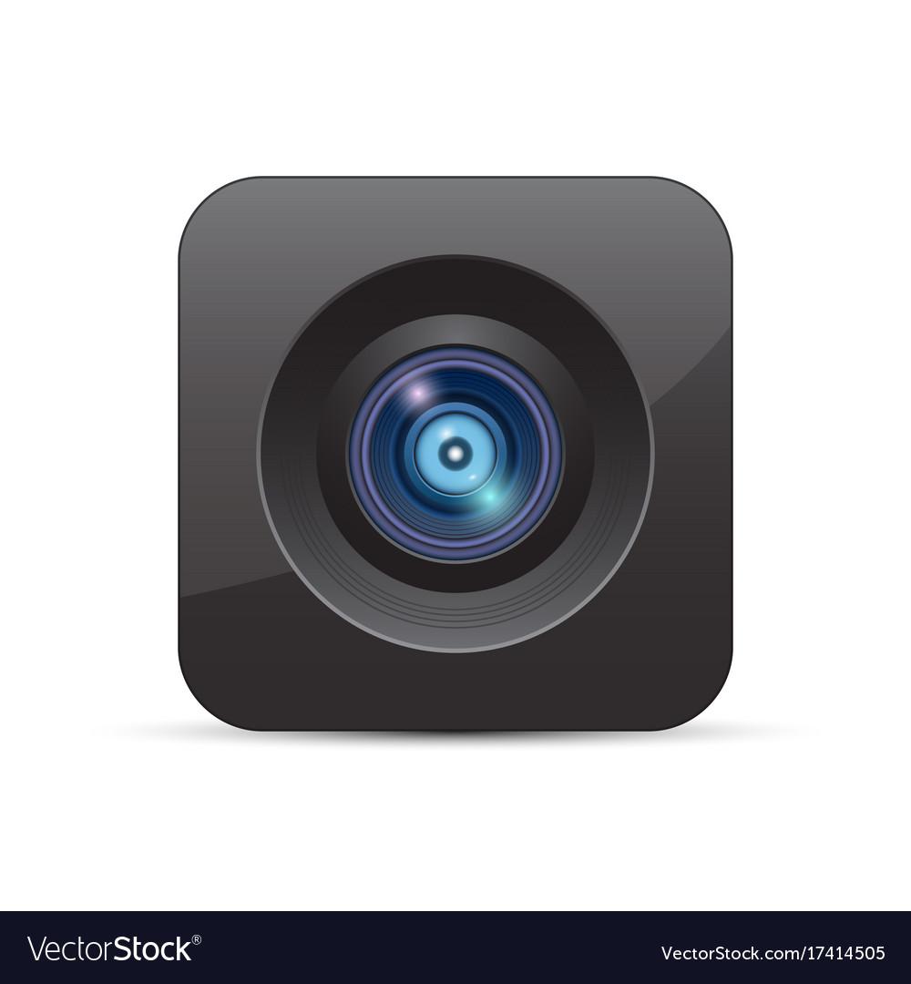 Camera icon vector image