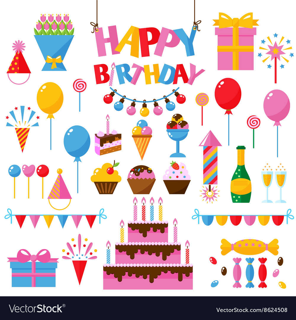Happy birthday symbols text choice image symbol and sign ideas celebration happy birthday party symbols carnival vector image celebration happy birthday party symbols carnival vector image buycottarizona