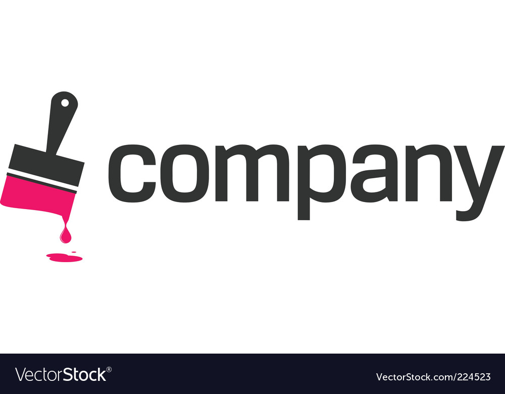 Repair man logo vector image