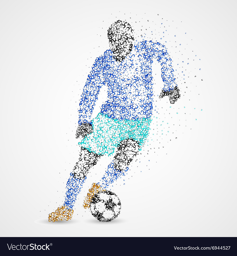 Soccer football sport athlete vector image