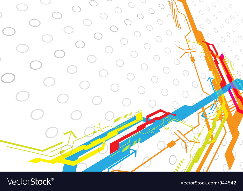 Design abstract background vector image