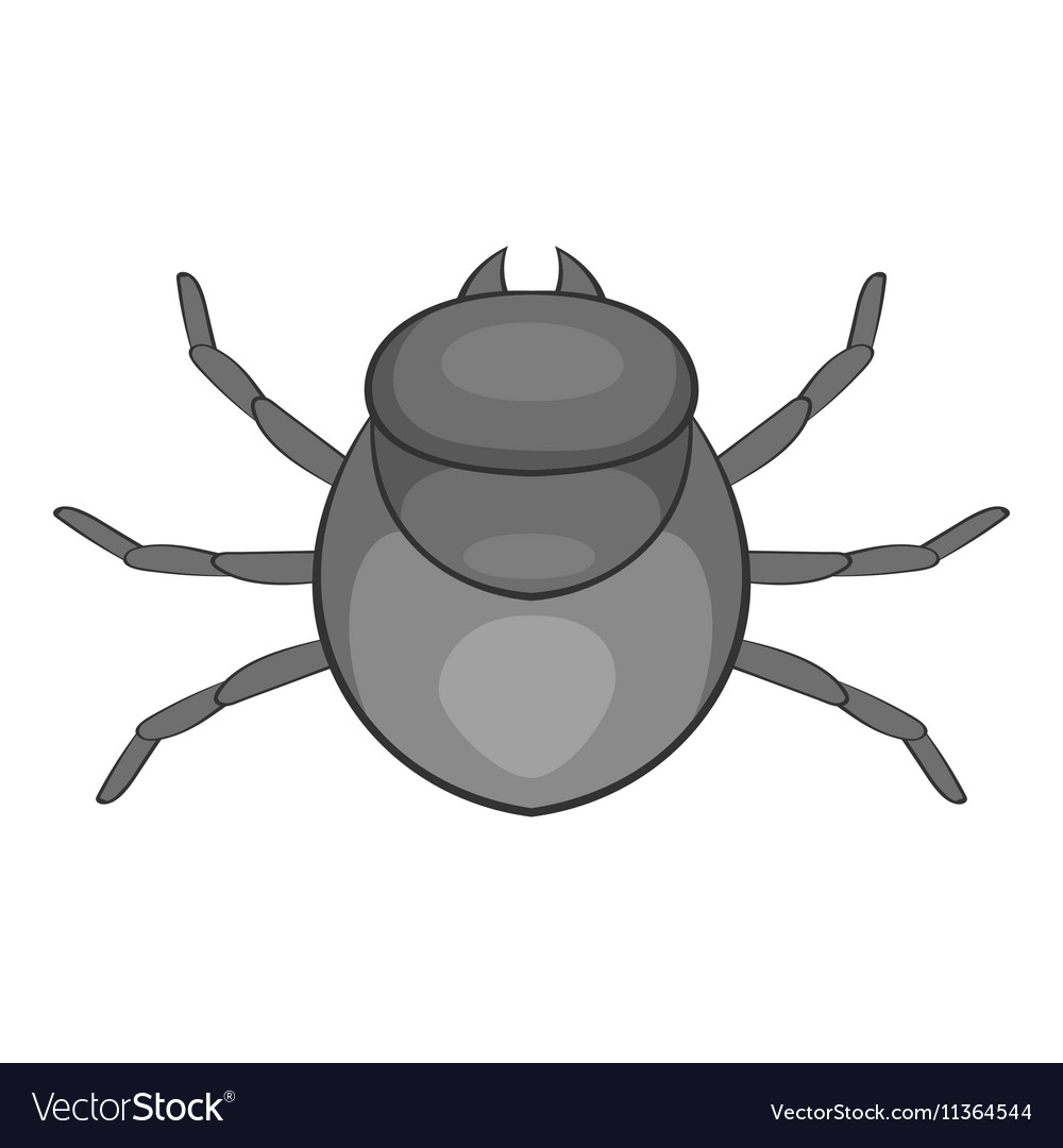 Harvest bug icon cartoon style vector image