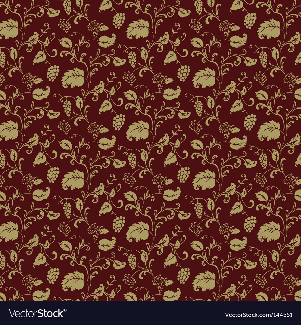 Burgundy pattern vector image