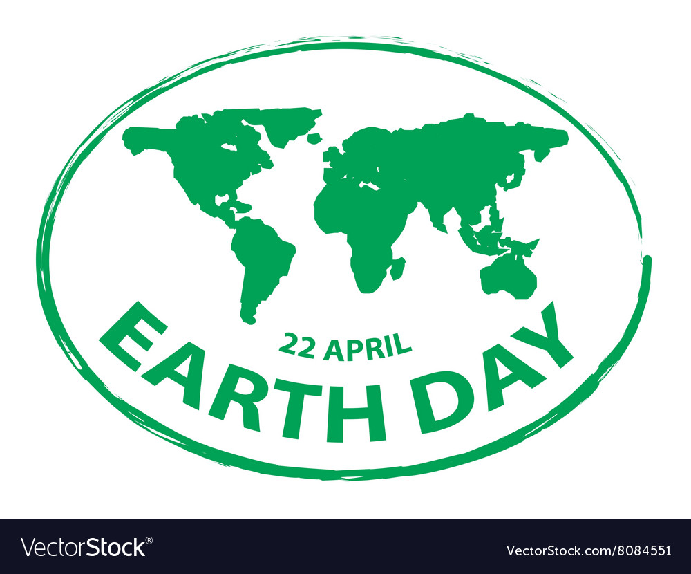 Earth day green grunge map stamp style symbol 2 vector image earth day green grunge map stamp style symbol 2 vector image buycottarizona