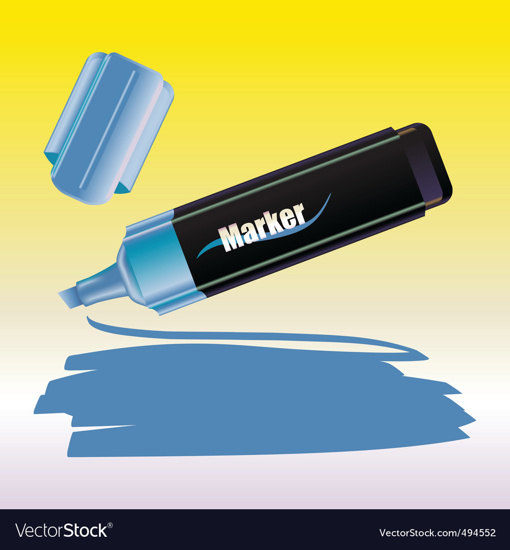 Marker vector image