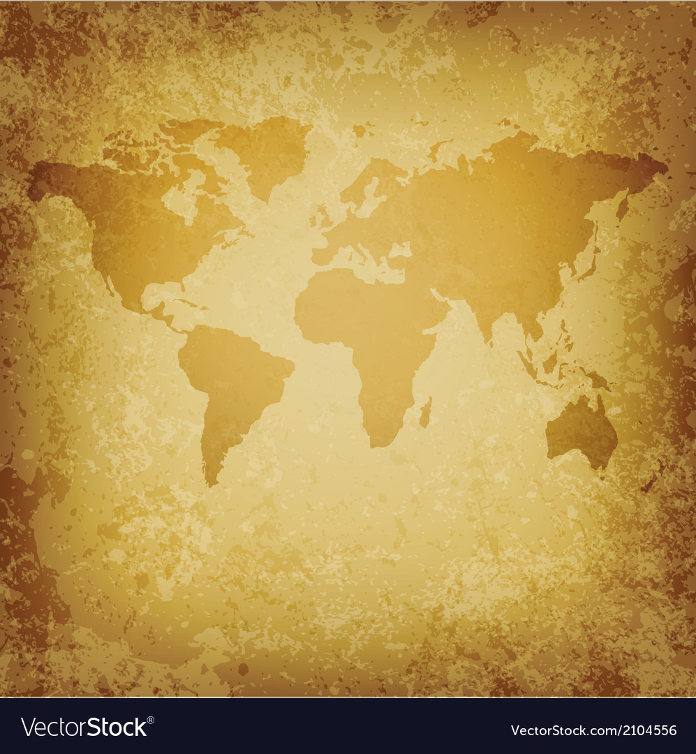 Old world map blank template royalty free vector image old world map blank template vector image gumiabroncs Images