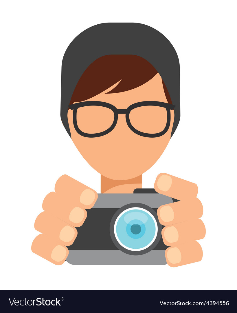 Pothographer icon vector image