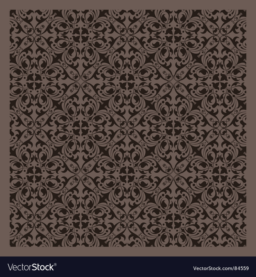 Vintage pattern series vector image