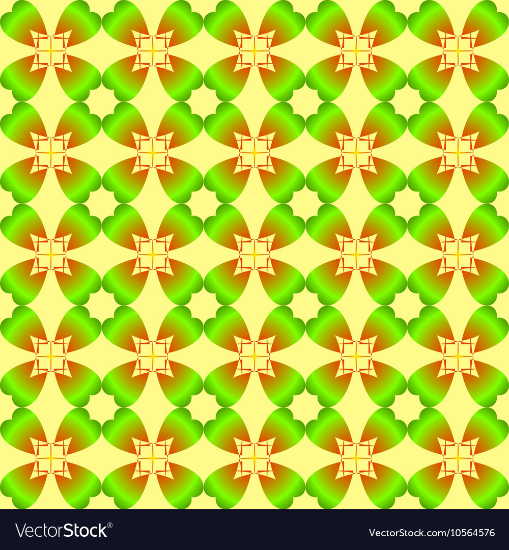 The pattern for the day of St Patricks Day vector image