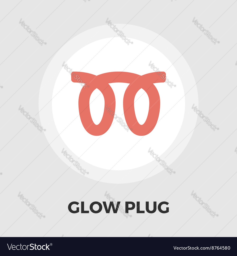 Glow plug flat icon royalty free vector image vectorstock glow plug flat icon vector image buycottarizona