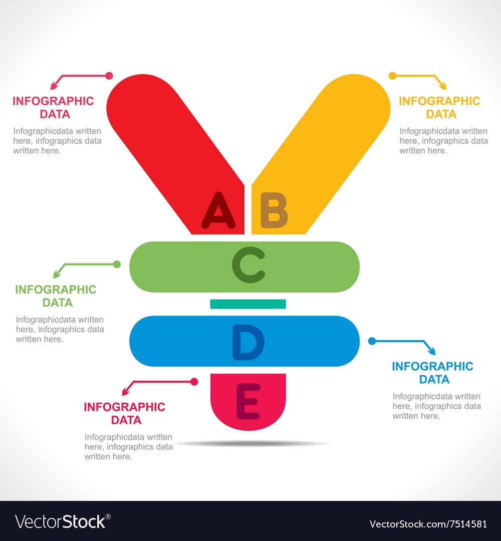 Creative yen currency symbol info graphics design vector image creative yen currency symbol info graphics design vector image biocorpaavc