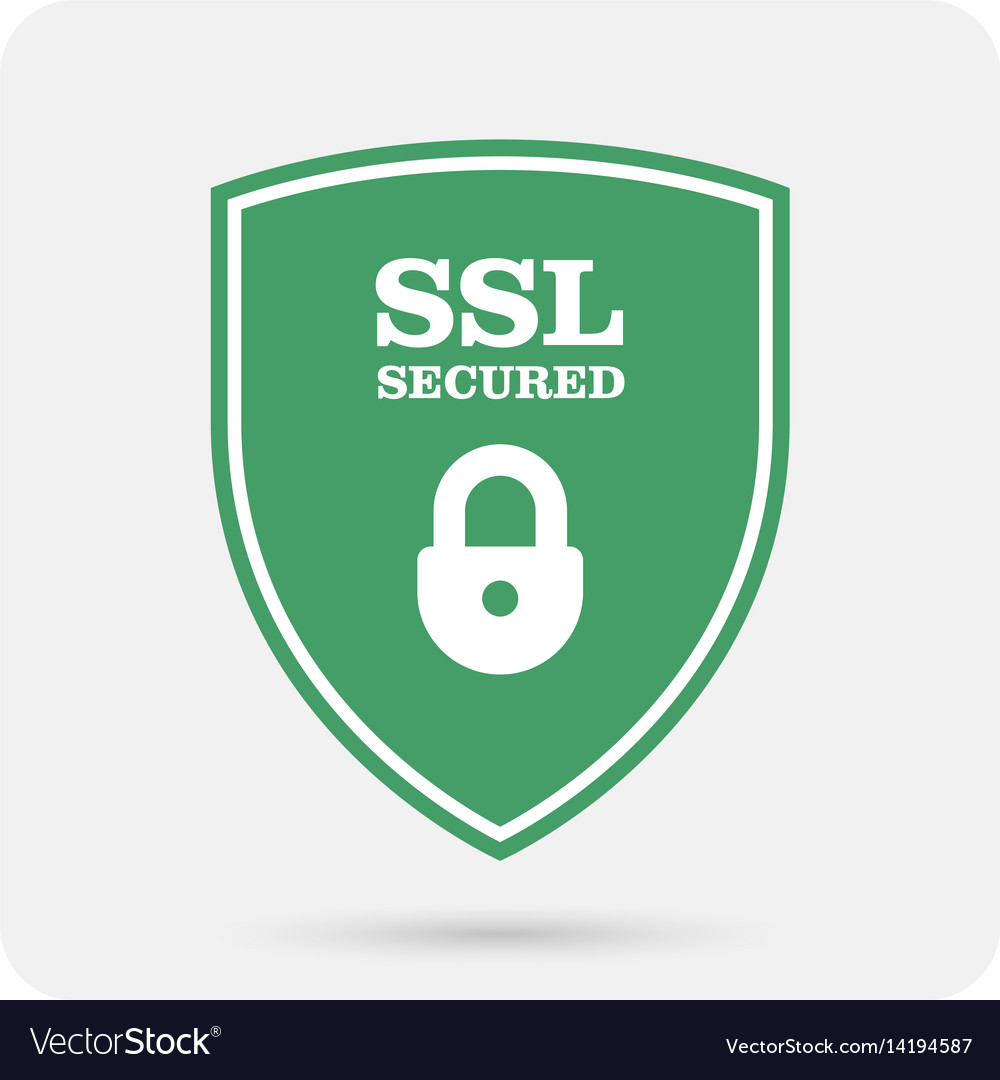 Ssl certificate shield with padlock secure vector image ssl certificate shield with padlock secure vector image xflitez Gallery