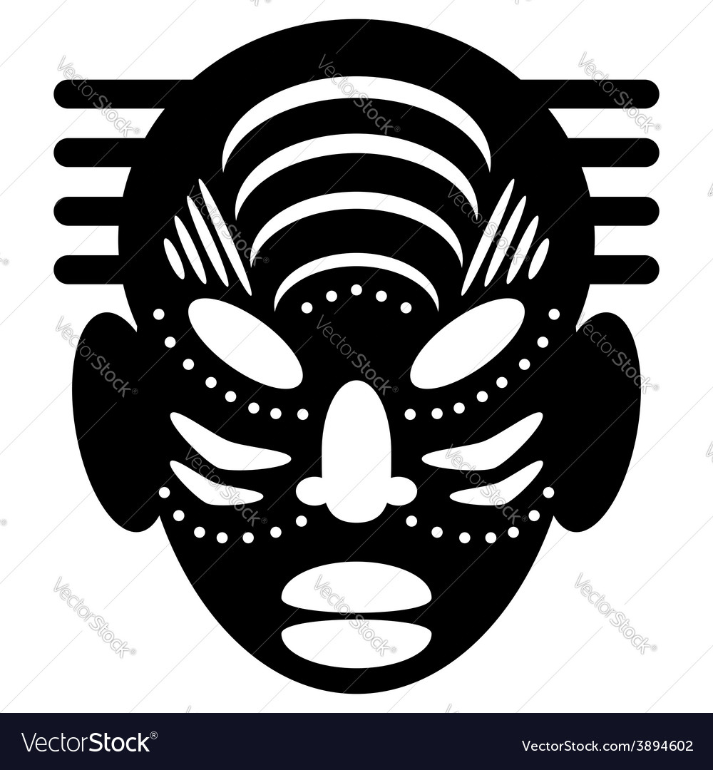 African masks tribal design royalty free vector image african masks tribal design vector image buycottarizona