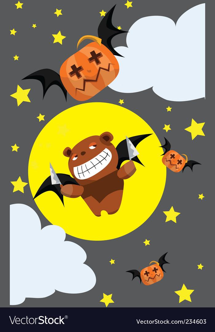 Halloween humor Royalty Free Vector Image - VectorStock