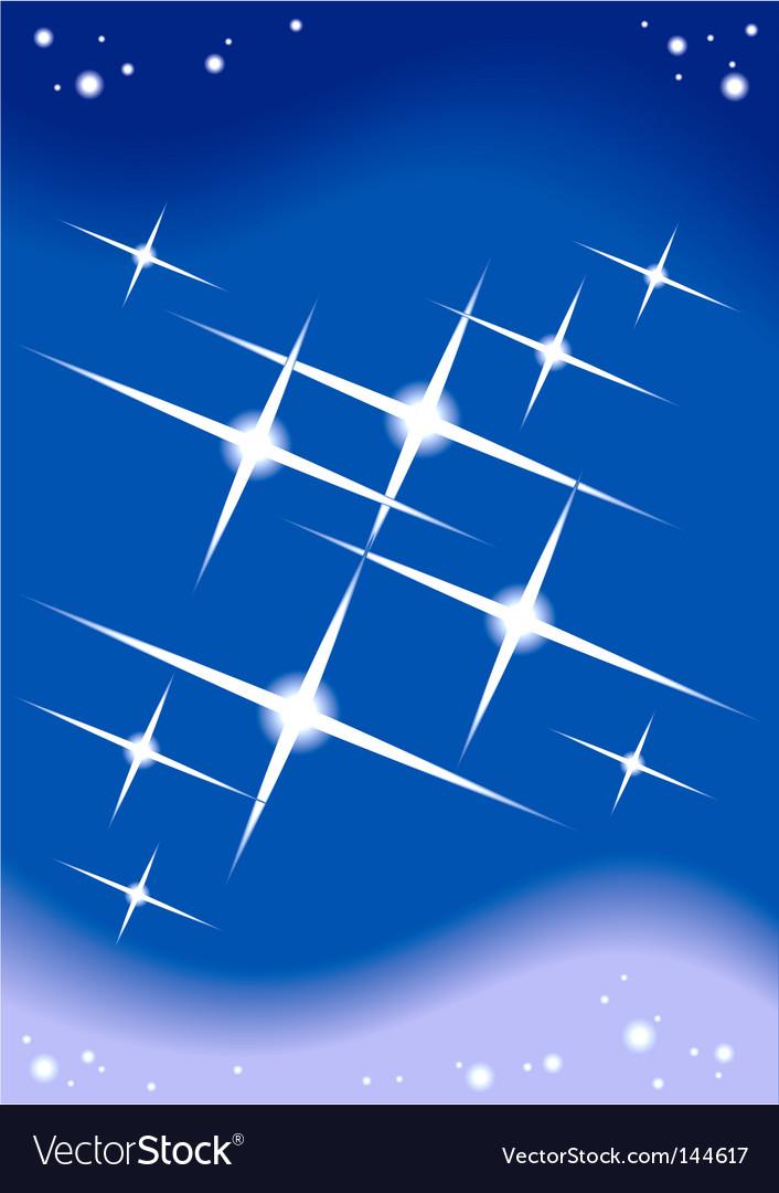 Starlight background Vector Image