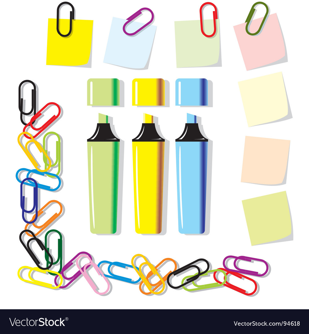 Markers vector image
