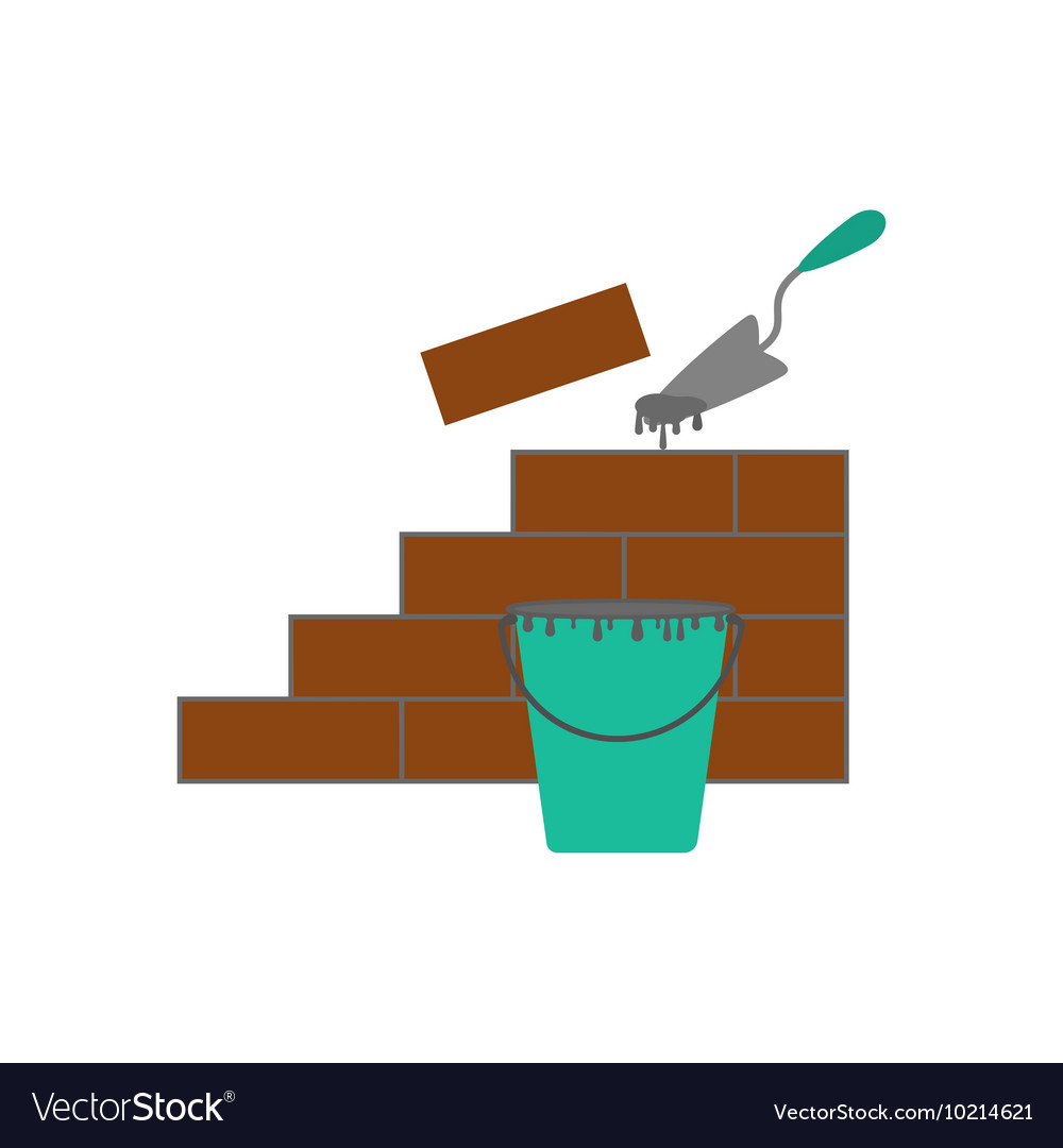 Brickwork vector image