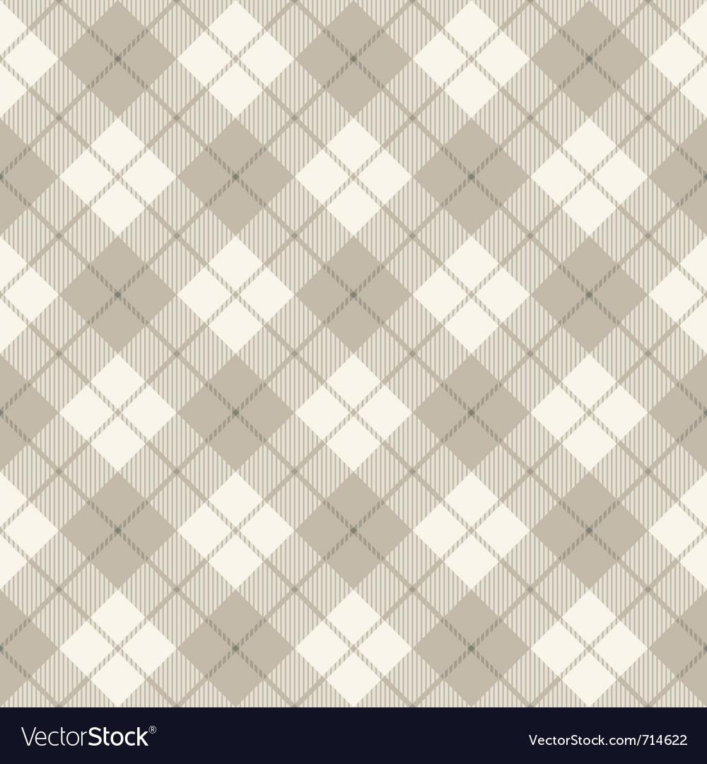 Scottish diagonal plaid vector image