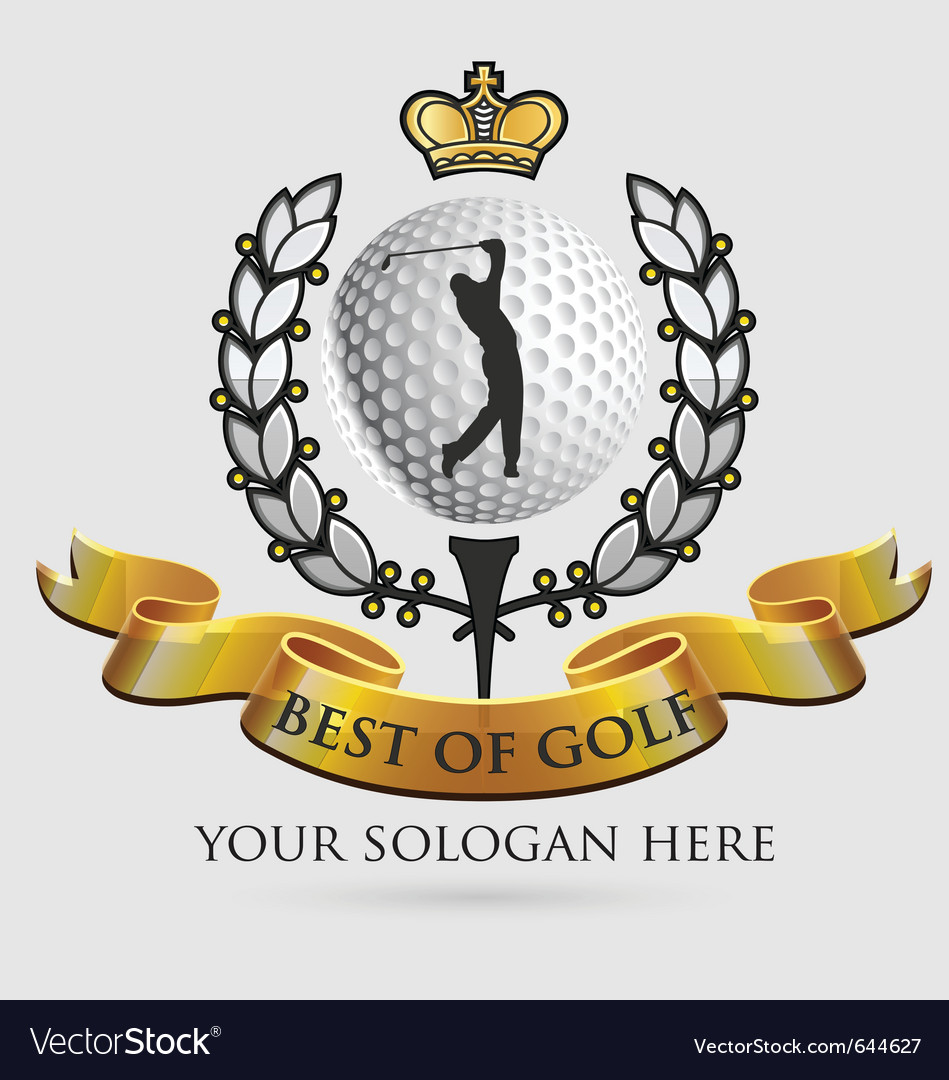 Best-of-golf vector image