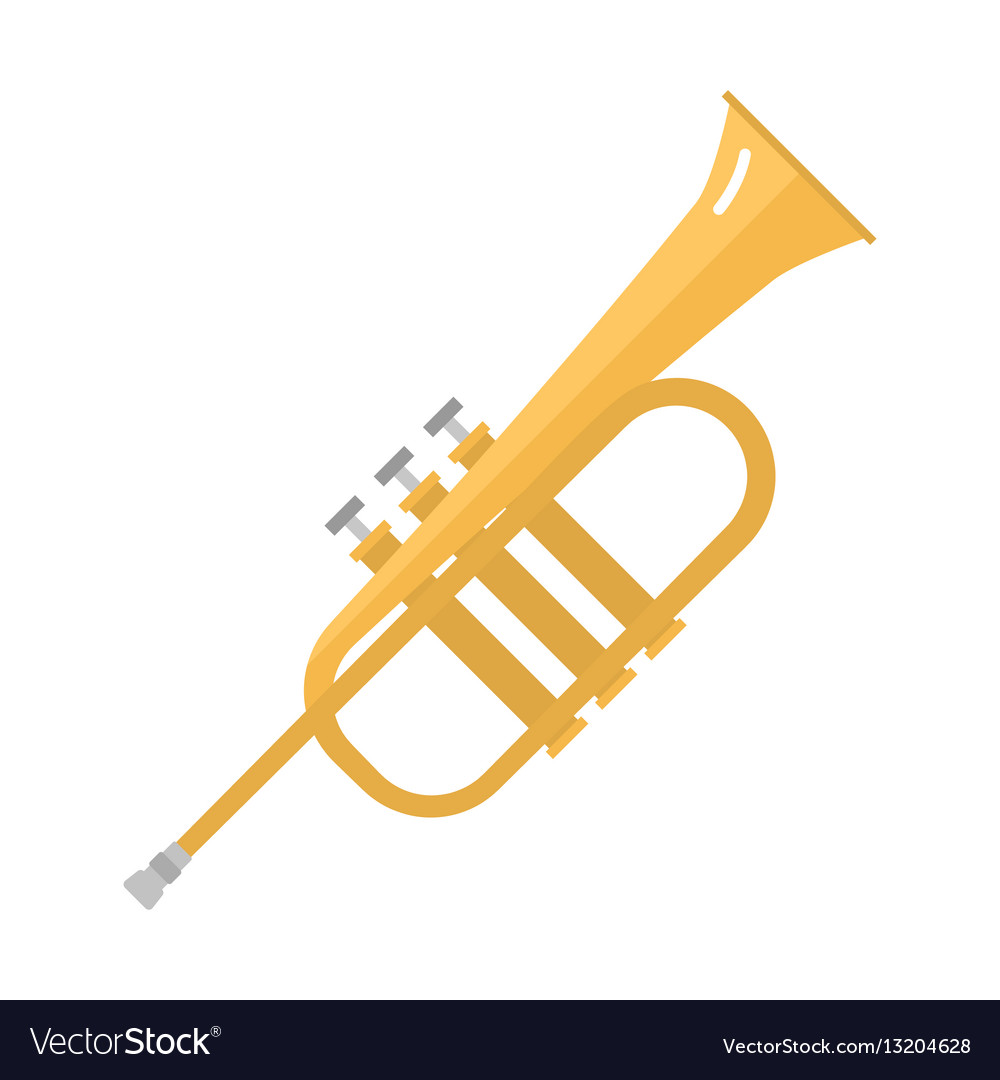 Saxophone icon music classical sound instrument vector image