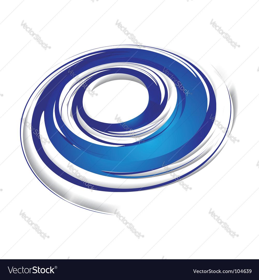 Swirl wave vector image