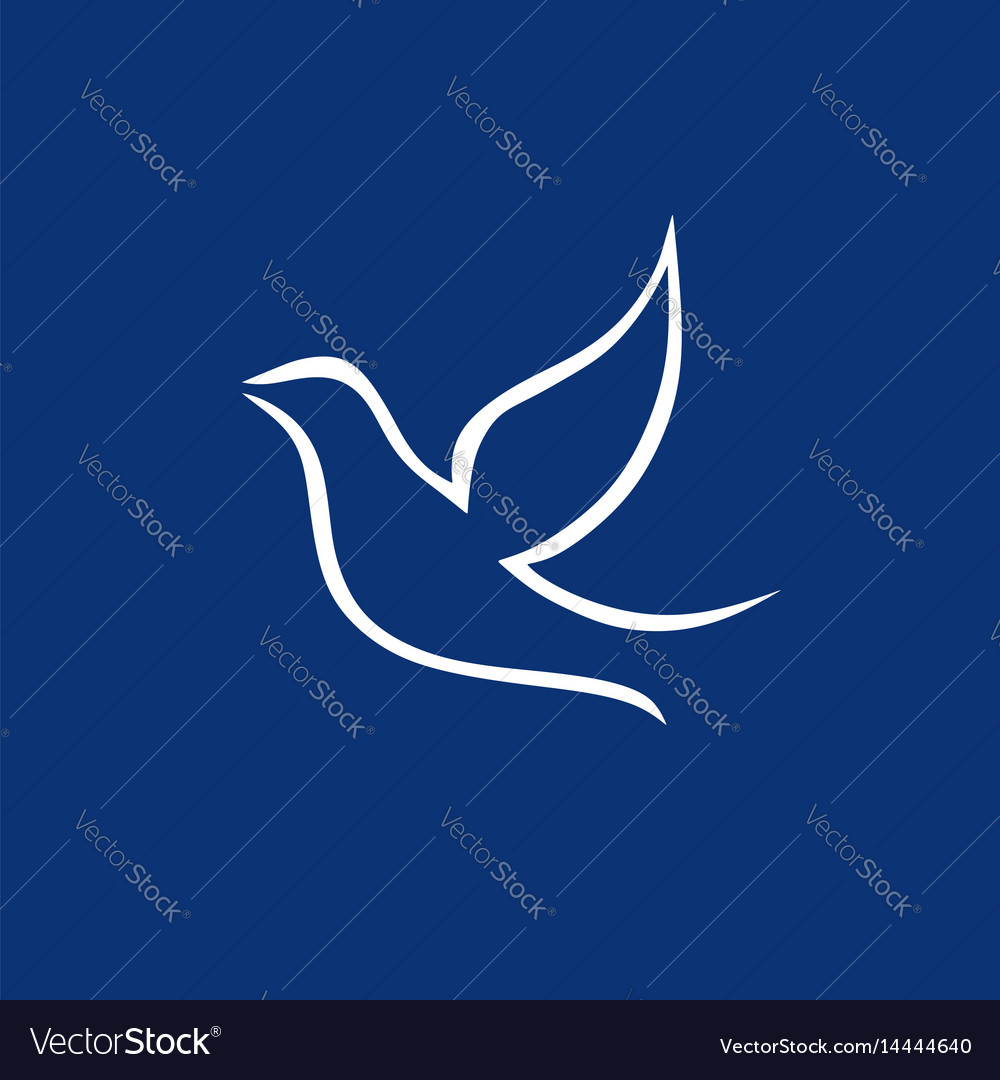 Dove the symbol of the holy spirit royalty free vector image dove the symbol of the holy spirit vector image biocorpaavc