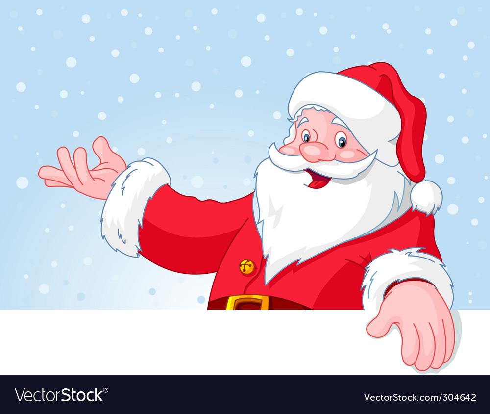 santa claus royalty free vector image vectorstock