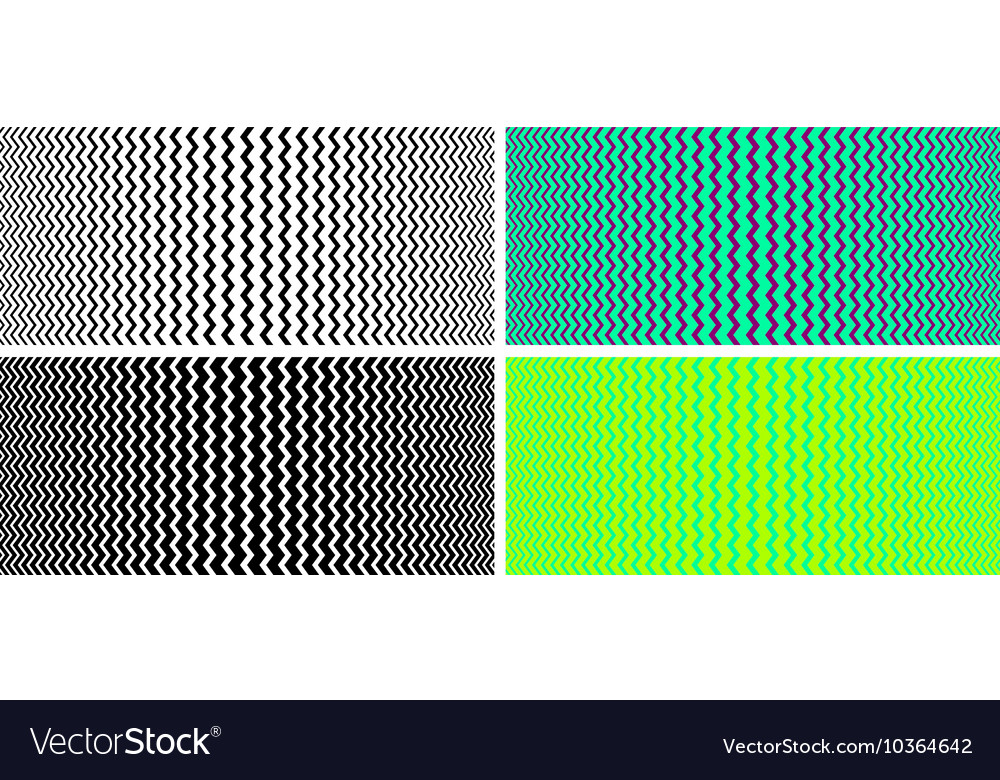 Seamless texture with optical effect vector image