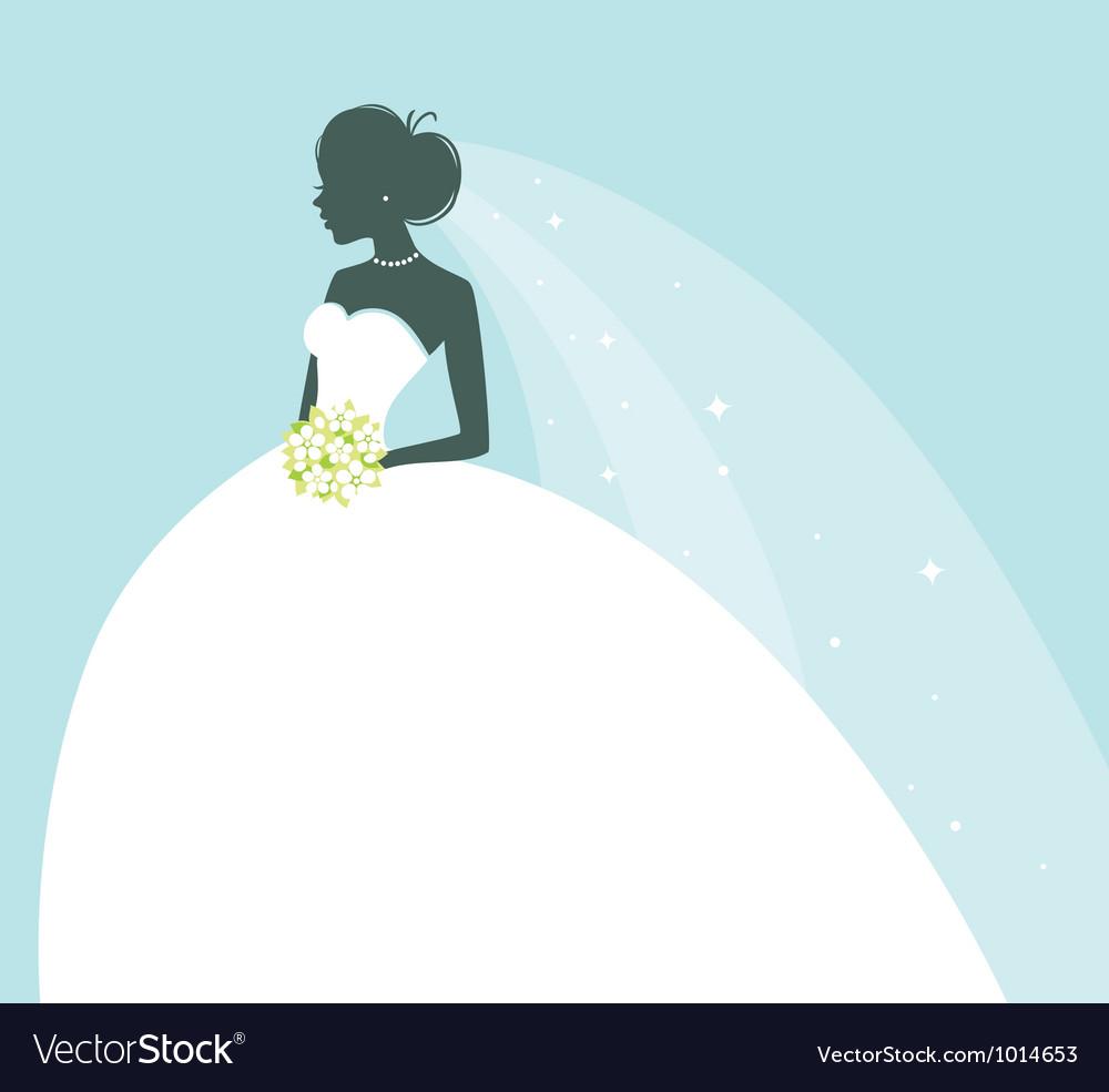 Bride vector image