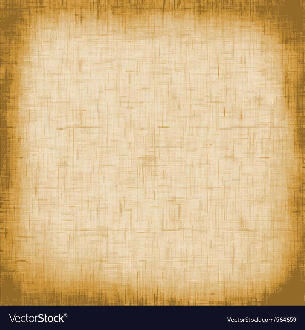 Retro canvas vector image