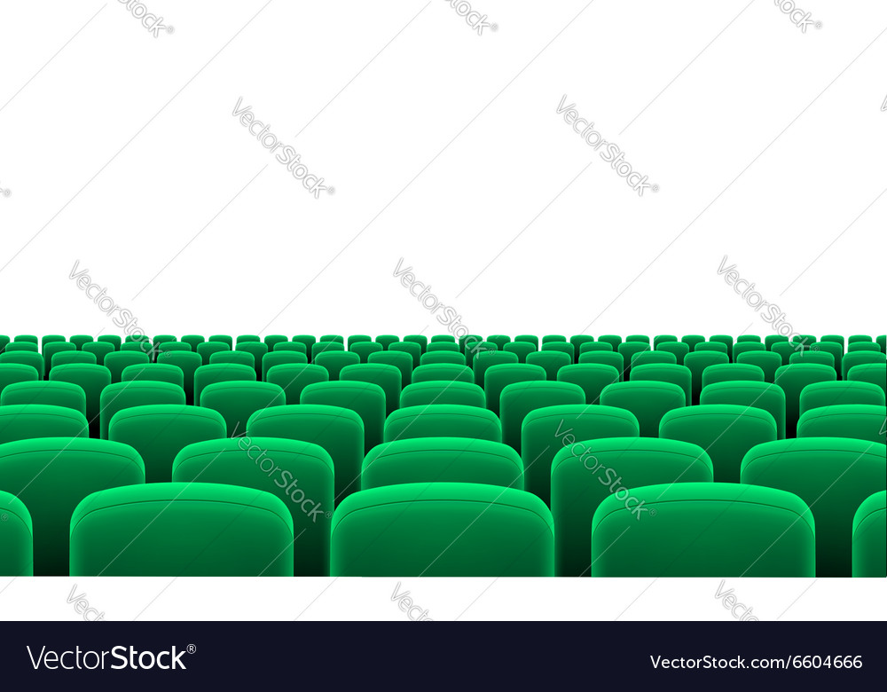 Theater seats vector image