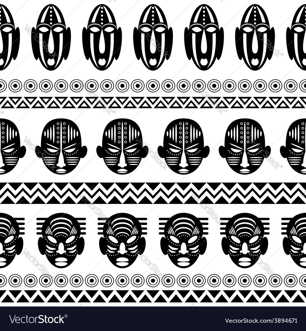 African tribal pattern ethnic ornament royalty free vector african tribal pattern ethnic ornament vector image buycottarizona