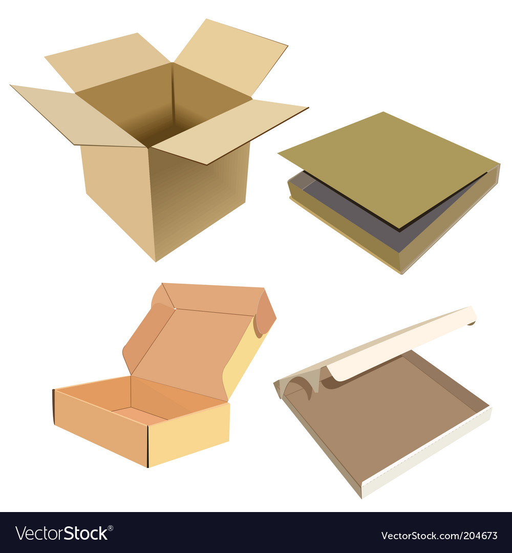 Box vector image
