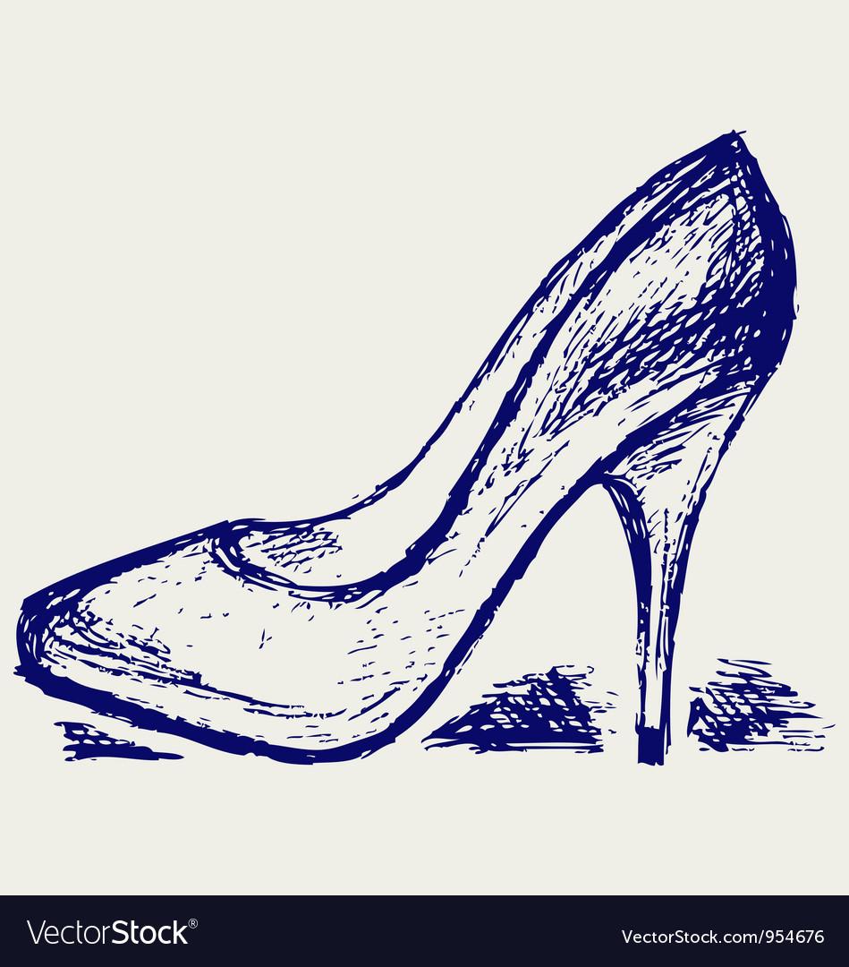 High heels Vector Image