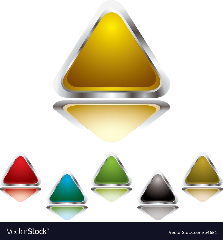 Triangle gel vector image