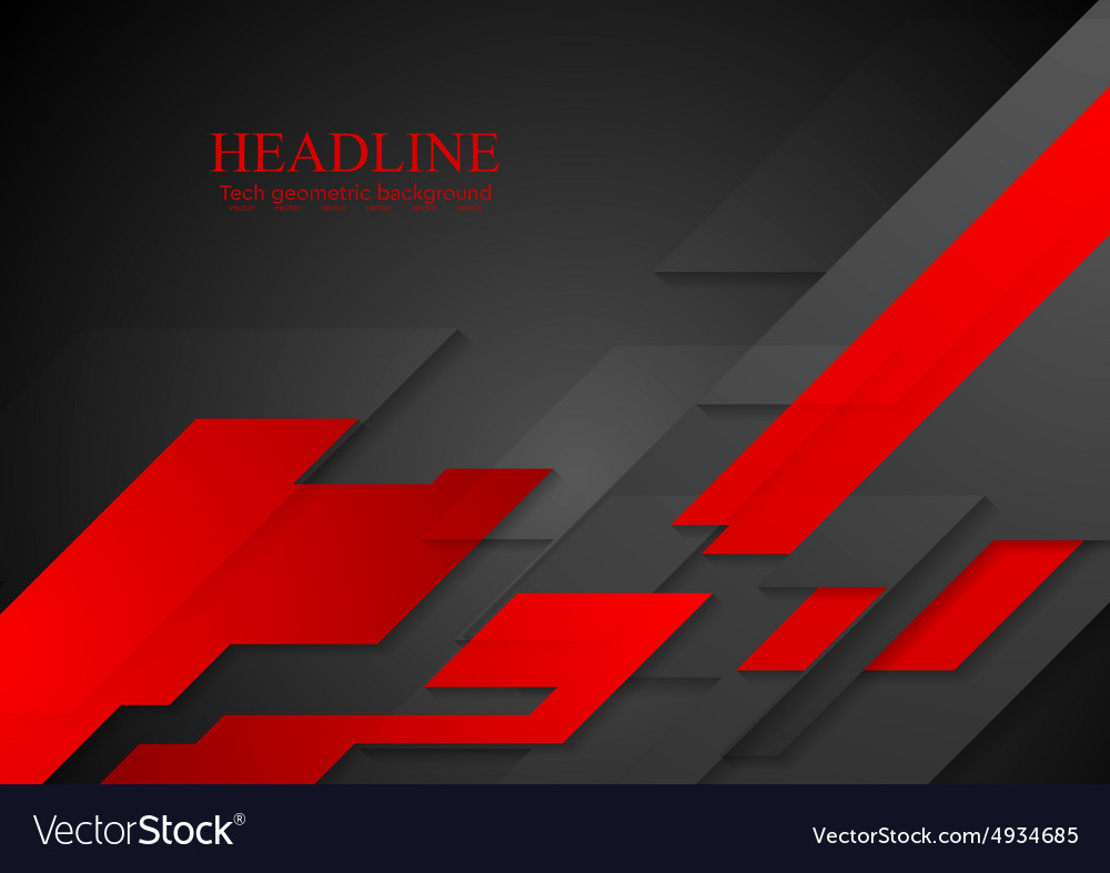 Dark concept modern background vector image