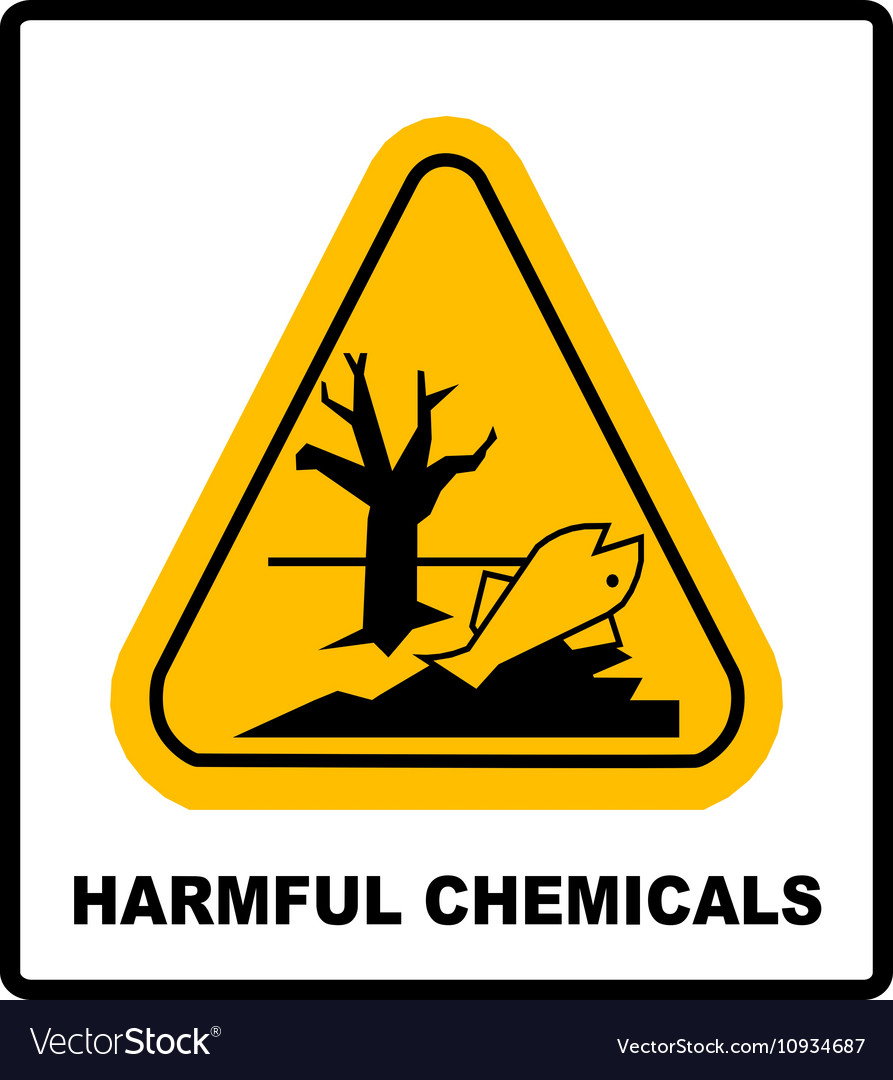 Harmful chemicals keep out hazardous to aquatic vector image biocorpaavc Gallery