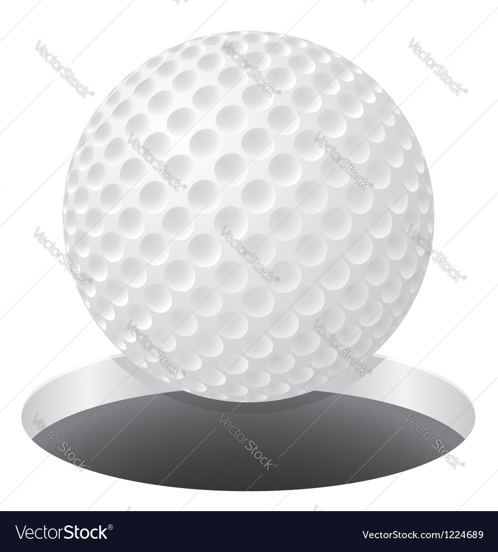 Golf 03 vector image