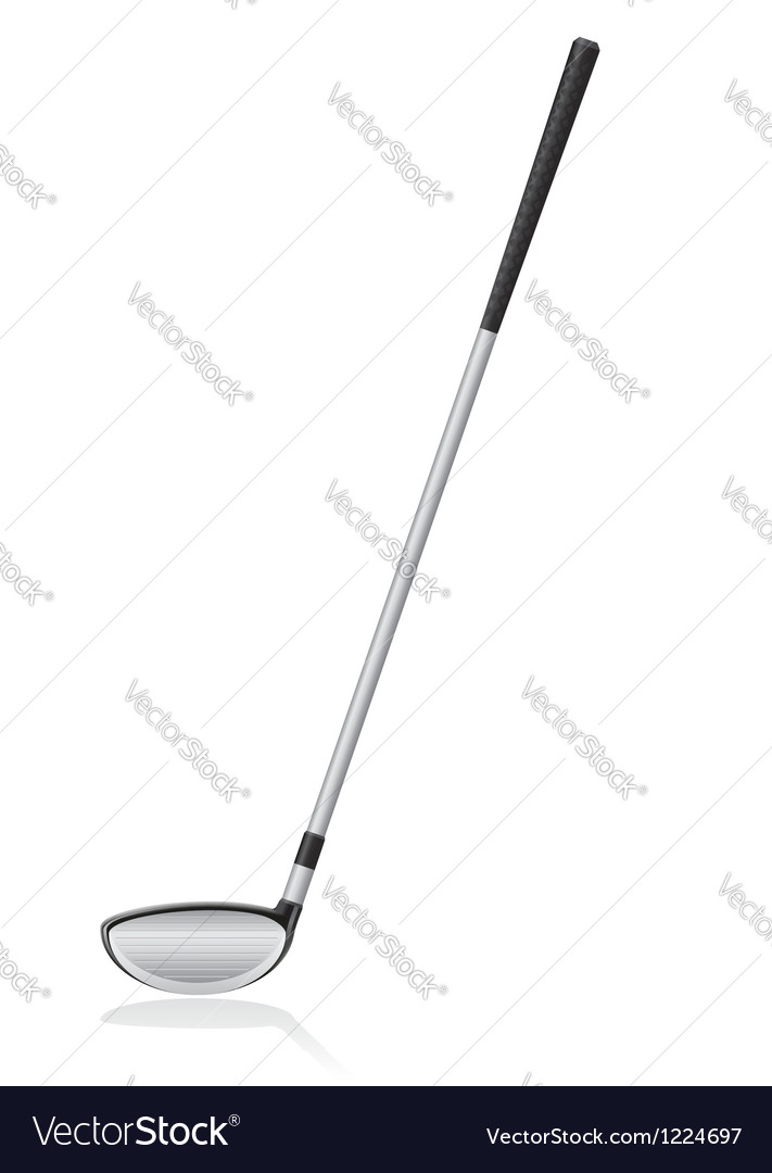 Golf 06 vector image
