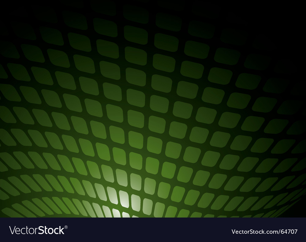 Green mesh vector image