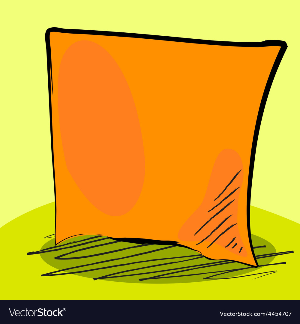 Grungy sticky note vector image